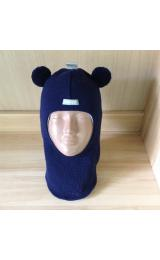 Зимний шлем Beezy 1402/6 мишка (синий)