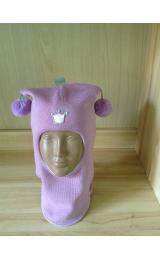 "Шлем Beezy (Бизи) 1401/13 зимний ""принцесса"" (сиреневый)"