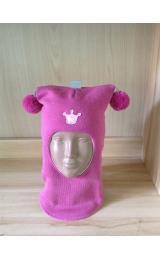 """Шлем Beezy (Бизи) 1401/11 зимний """"принцесса"""" (ягодный)"""