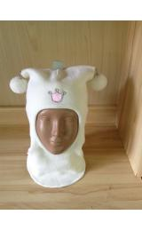 "Шлем Beezy (Бизи) 1401/21 зимний ""принцесса"" (белый)"