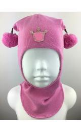 "Шлем Beezy (Бизи) 1530/2  ""принцесса"" (розовый)"