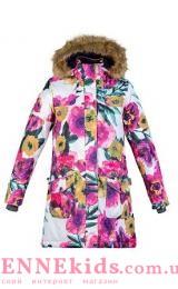 Пальто-парка Huppa Fashion MONA 12200030-81720 цветы