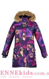 Пальто-парка Huppa Fashion MONA 12200030-81753 разноцвет