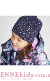 Lassie 728761-6951 шапка зимняя для девочки (горошек)