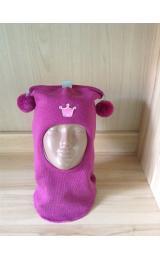 """Шлем Beezy (Бизи) 1401/10 зимний """"принцесса"""" (фуксия)"""