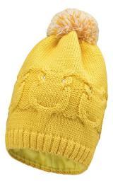Lenne Gali 19392/117 шапка зимняя для девочки (желтая)