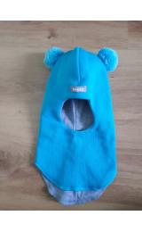 Демисезонный шлем Beezy 1702/10  мишка (бирюза)