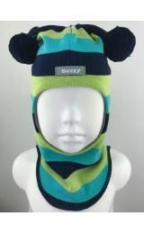 """Демисезонный шлем Beezy 1706/35  """"принц"""" (лайм)"""