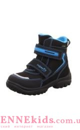 SUPERFIT SNOWCAT ботинки зимние (черно-синие)